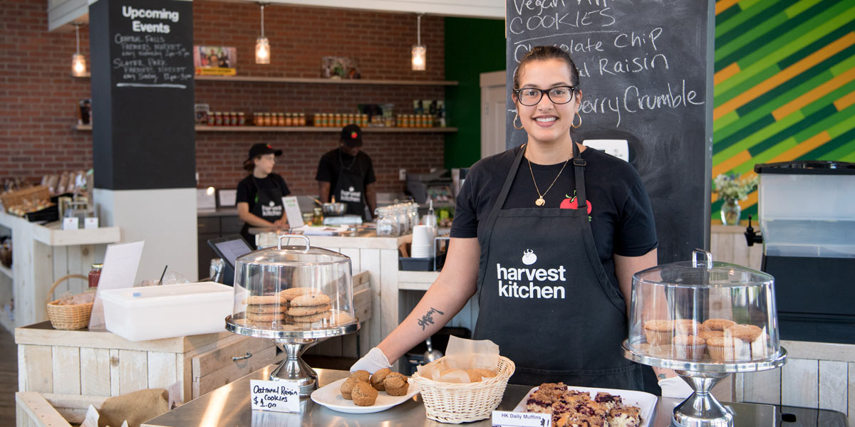 Photo of staff at Harvest Kitchen Cafe & Corner Store