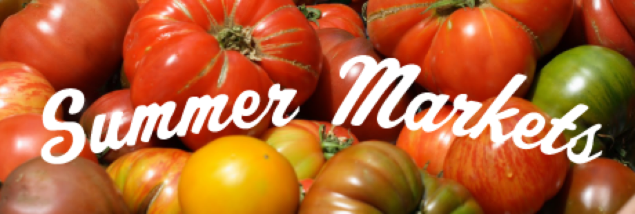 Summer Farmers Markets