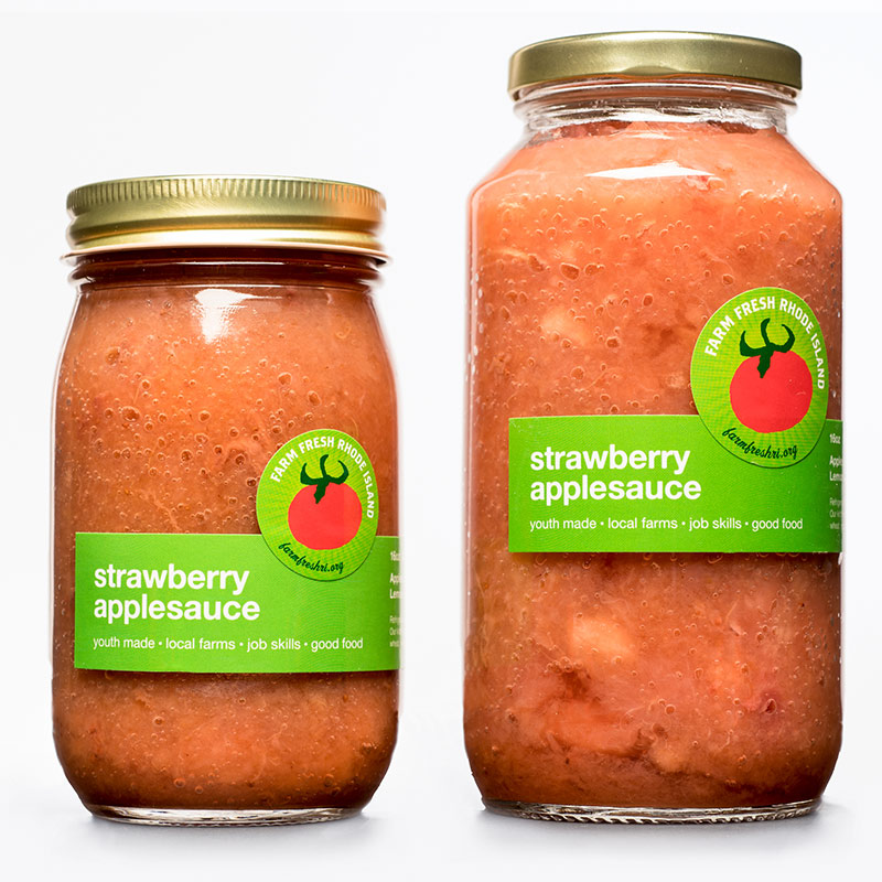 <h5>Strawberry Applesauce</h5>