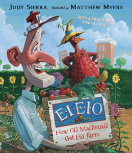 Cover of EIEIO: How Old MacDonald Got His Farm